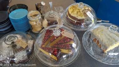 Single Track Cafe Cake Selection
