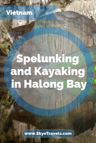 Spelunking and Kayaking in Halong Bay Pin