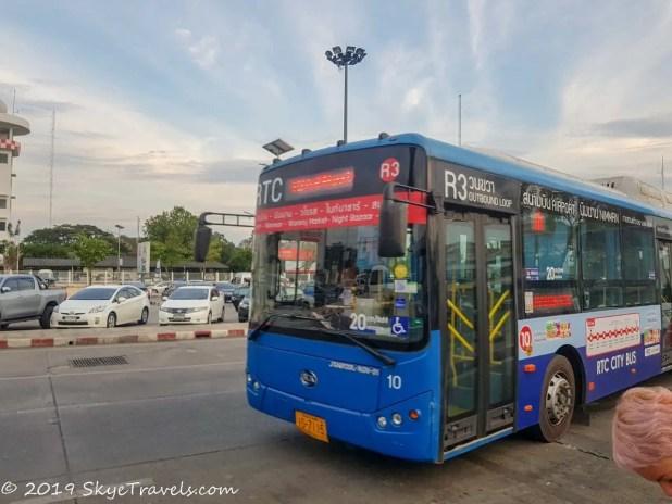 New Chiang Mai Bus