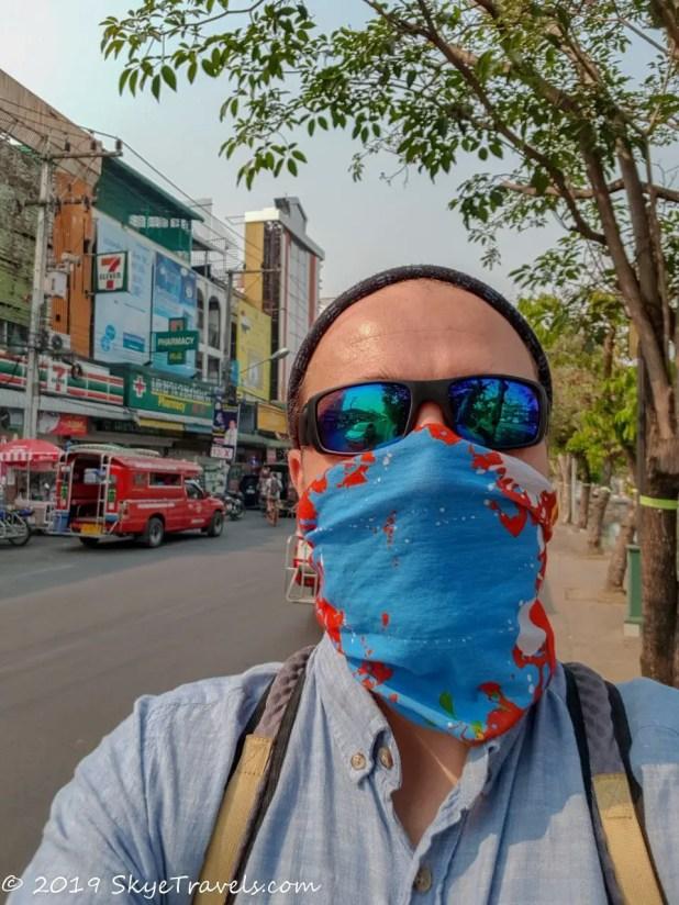 Selfie Expat in Chiang Mai