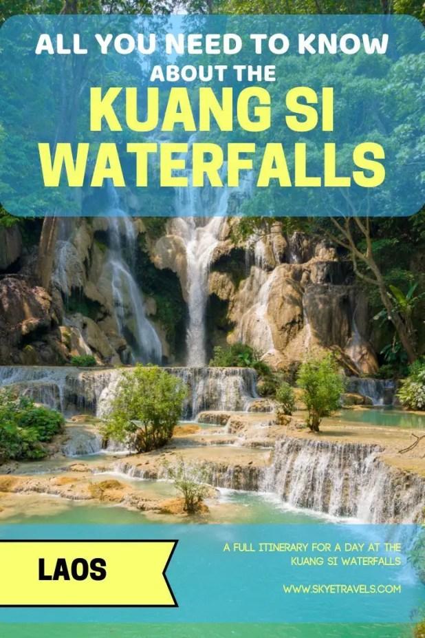 Kuang Si Waterfalls Pin
