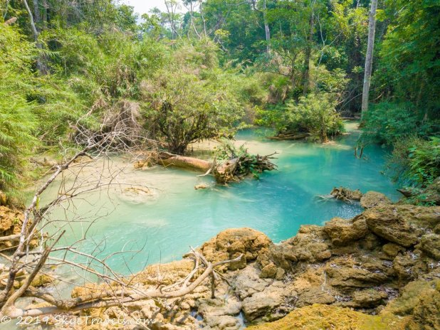 Kuang Si Waterfalls Two Tone