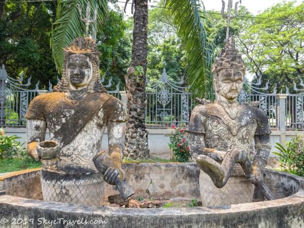 Buddha Park Statues #12