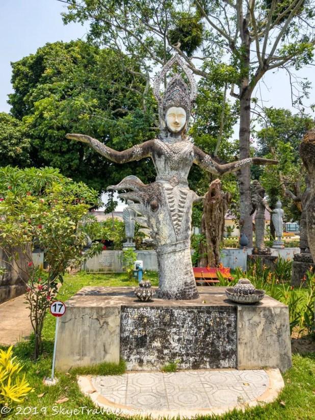 A Virtual Tour of the Buddha Park in Vientiane, Laos 12