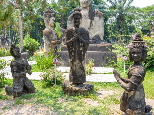 Buddha Park Statues #8