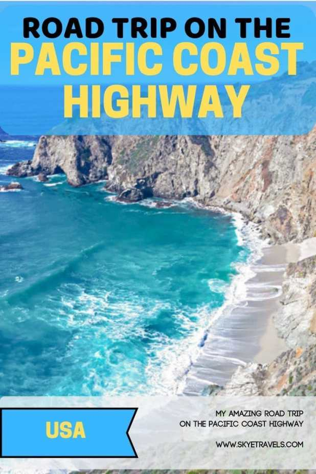 Road Trip on the PCH Pin