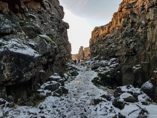 Þingvellir National Park Bloody Gates for GoT