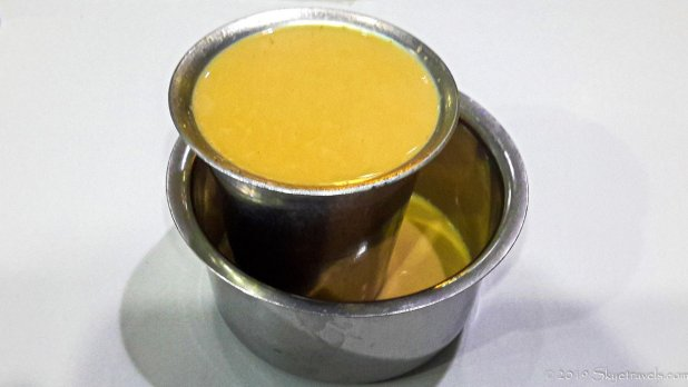 Chai Tea at Indian Restaurant #3