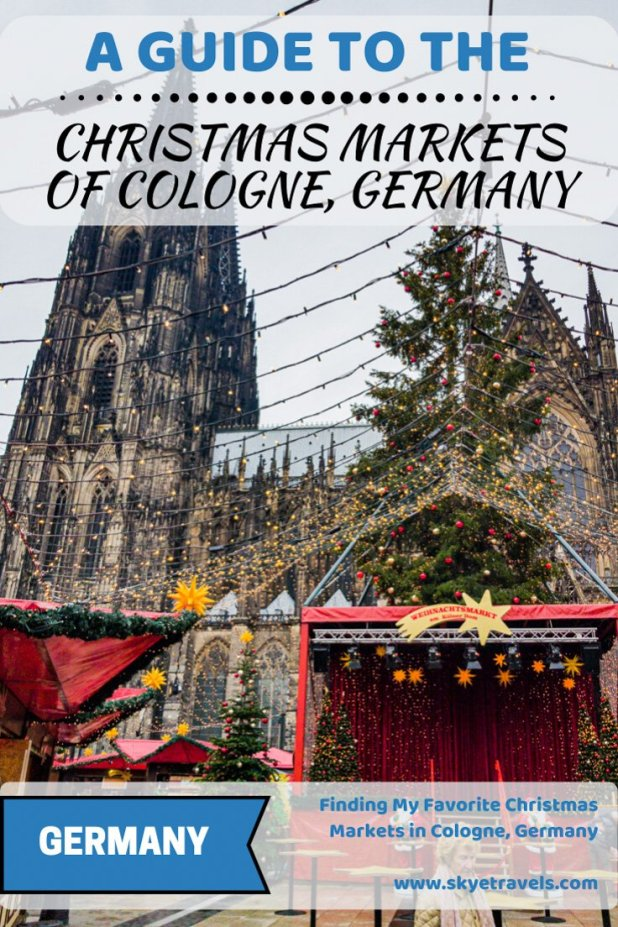 Christmas Markets in Cologne Pin