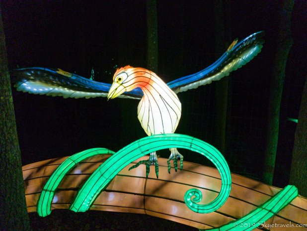 Bird on Branch Lantern
