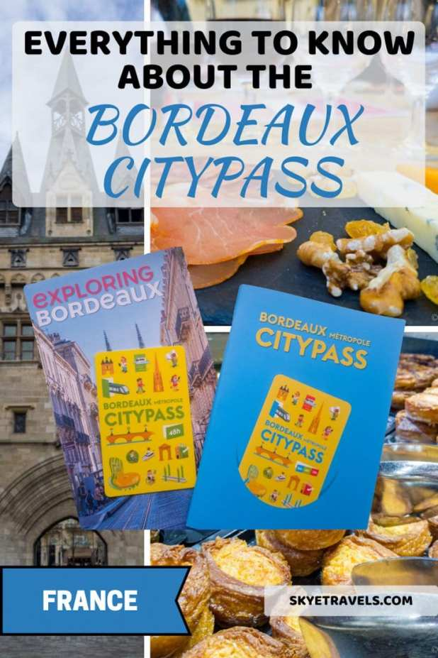 Bordeaux CityPass Pin
