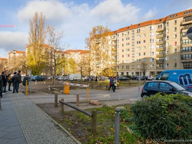 Site of Hitler's Bunker in Berlin