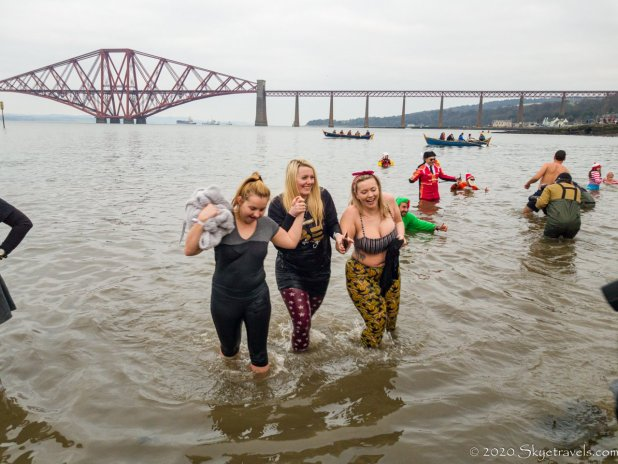Three Girls at Loony Dook 2020