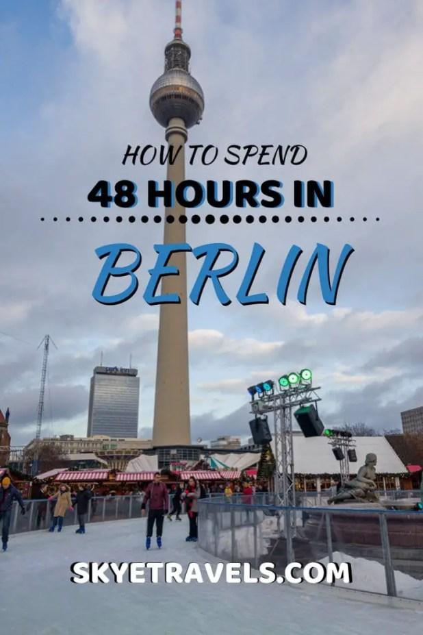 48 Hours in Berlin Pin