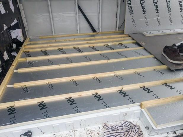 Van Floor Insulation