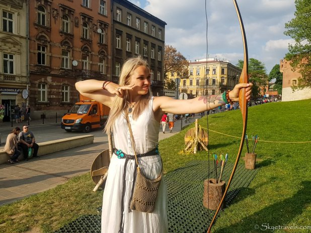 Old Town Archery in Krakow