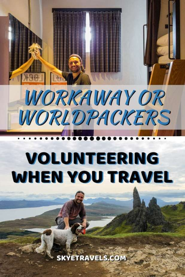 Workaway or Worldpackers Pin