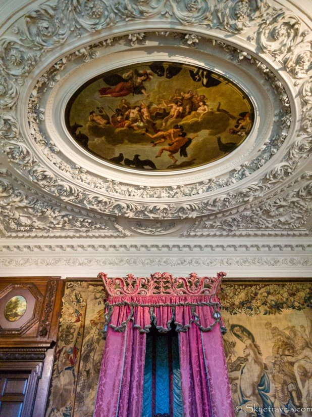 Holyrood Palace King's Bedchamber Ceiling Painting