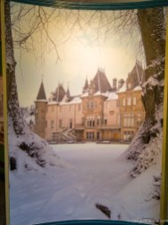 Callendar House in Winter Painting