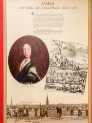 James 4th Earl of Callendar and 1715 Panel