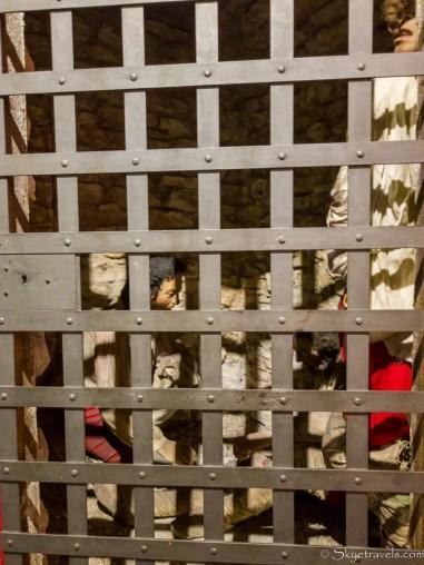 Callendar House Prison Scene