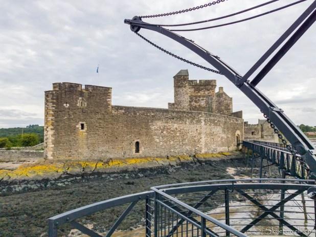 Blackness Castle from Pier