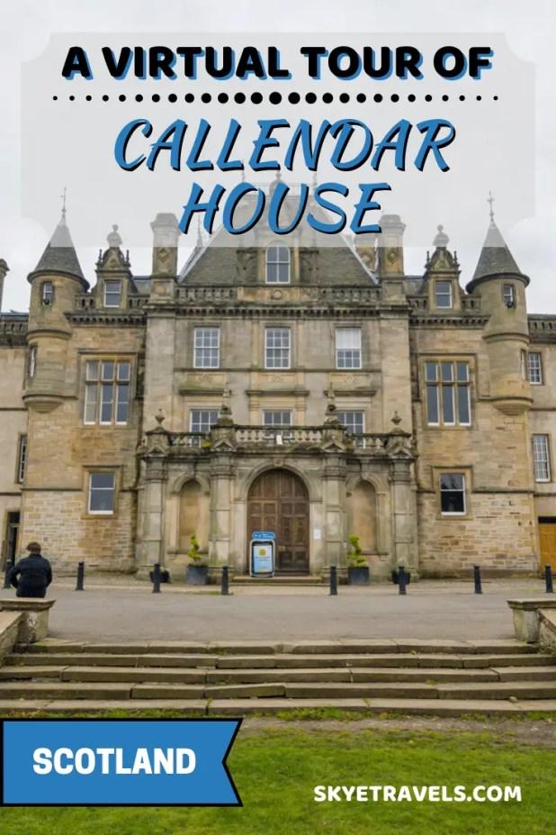 Virtual Tour of Callendar House Pin