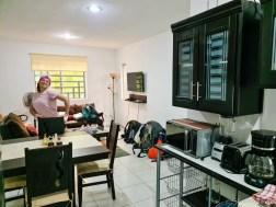 Living Room of Airbnb in Puerto Morelos