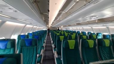 Aer Lingus Flight to Dublin
