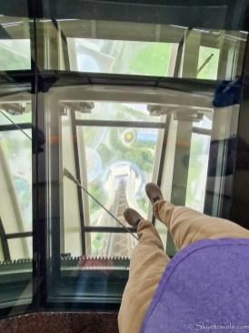 View Through Floor of Space Needle
