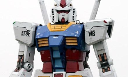 Il Giappone festeggia i 30 anni di Gundam con uno 0079 in scala 1:1