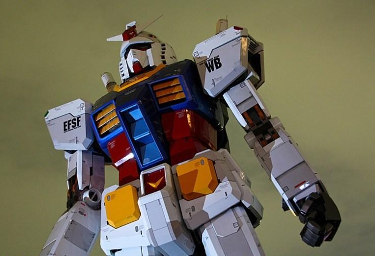 Il Gundam di Odaiba