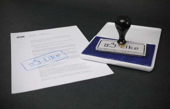 """Come lasciare il segno alle riunioni: il timbro """"Like"""" di Facebook"""