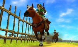Ocarina of Time 3D - Link e Epona