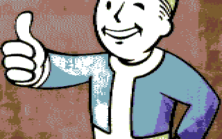 Vault Boy | C64 Yourself