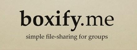Boxify.me, il file sharing per tutti