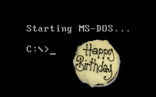 MS-DOS compie 30 anni (e un pò li dimostra…)