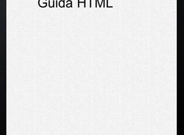 La Piccola Guida HTML per iPad