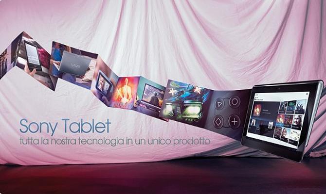 Sony Tablet S, sfida diretta contro iPad