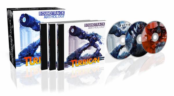 Turrican Soundtrack Anthology by Chris Huelsbeck