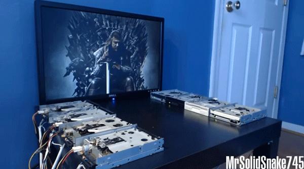 Il tema musicale di Game of Thrones suonato con… dei floppy drive