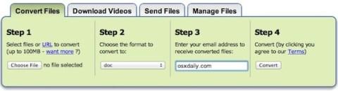 Convertitore da PDF a DOC gratis