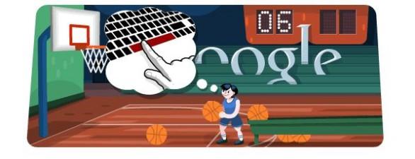 Google Doodle Olimpiadi di Londra: il Basket