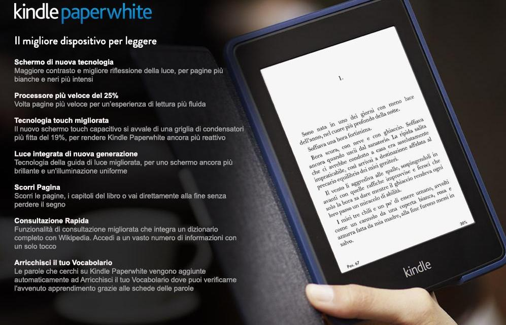 Amazon presenta il nuovo kindle paperwhite » lo skyblog