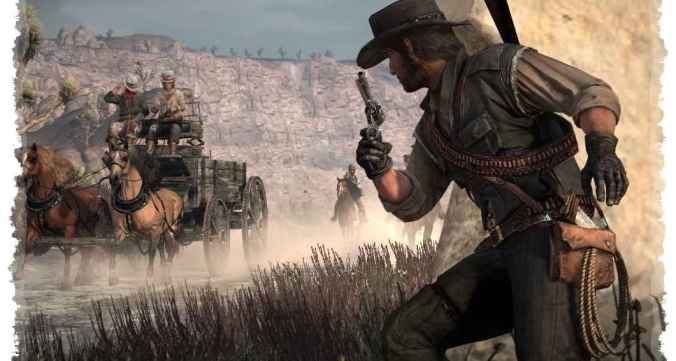 Red Dead Redemption One 1 Game For Pc