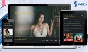 Skyindya Web Design Work - Rajshri Despande