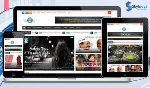 Skyindya Web Design Work - Funjabi Munda