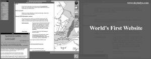The World's First Website