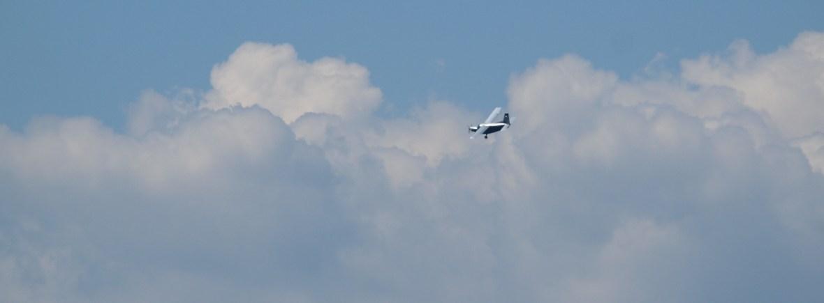 Blue Plane, Stanton Airport