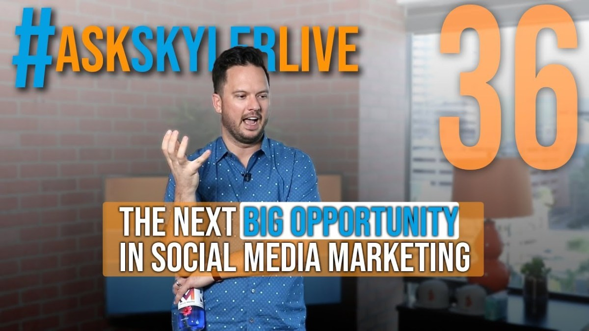 Learning to Invest, Is Passive Income Real, Next Big Thing in Marketing | #AskSkylerLive 36